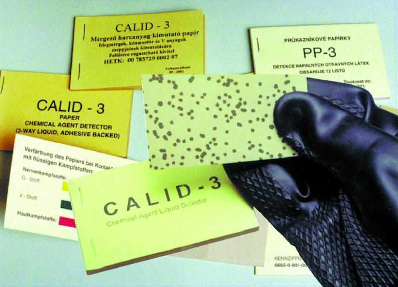 CALID-3 Liquid CWA Detection Papers