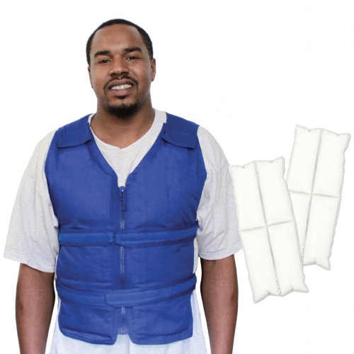 Adjustable Zipper Cooling Vest with Cool58® Phase Change