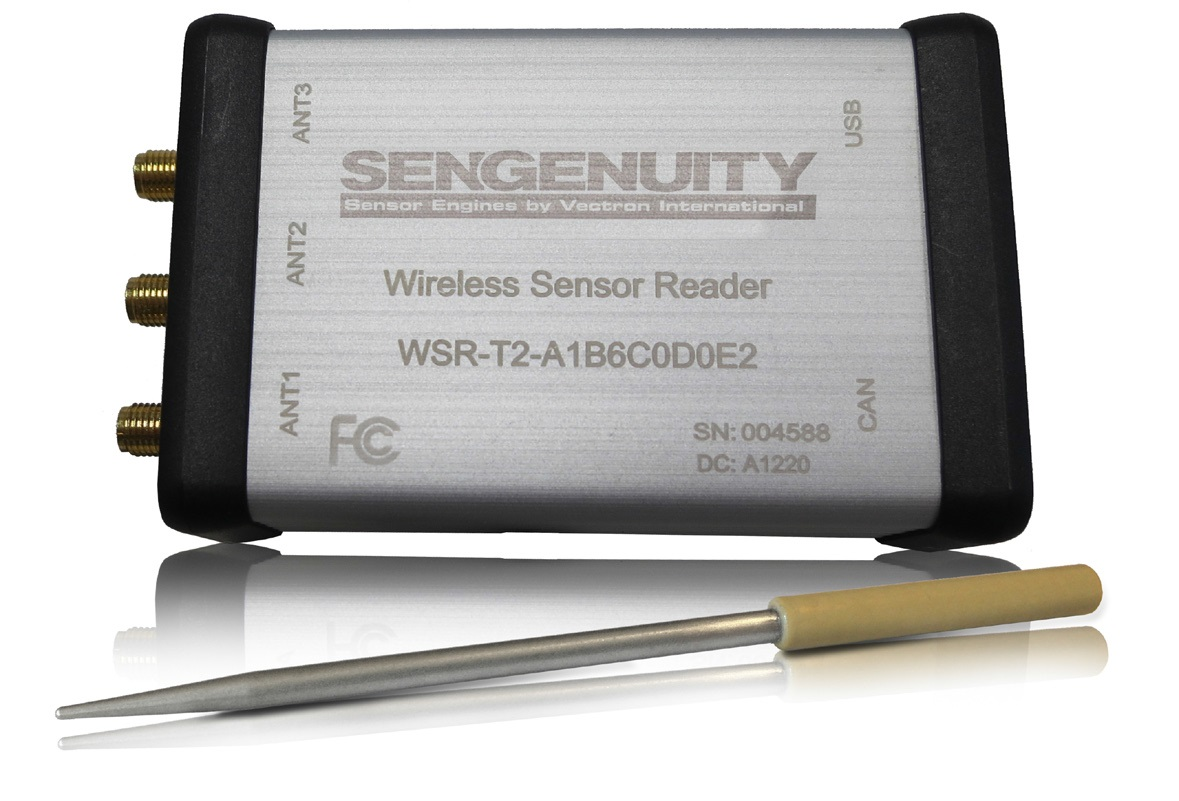Wireless SAW Temperature Sensor System