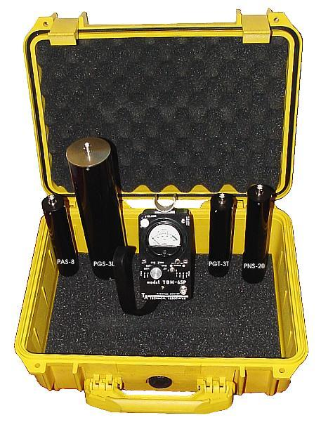 First Responders Radiation Detection kit