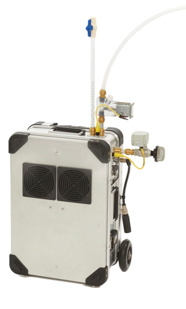 FAR-PASS (Filter Auto Reload – Pneumatic Air Sampling System)